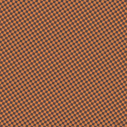 79/169 degree angle diagonal checkered chequered squares checker pattern checkers background, 8 pixel square size, , Raw Sienna and Woody Brown checkers chequered checkered squares seamless tileable