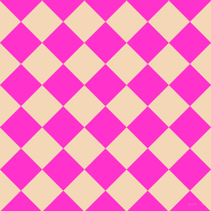 45/135 degree angle diagonal checkered chequered squares checker pattern checkers background, 61 pixel squares size, , Razzle Dazzle Rose and Pink Lady checkers chequered checkered squares seamless tileable