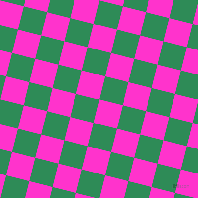 76/166 degree angle diagonal checkered chequered squares checker pattern checkers background, 49 pixel squares size, , Razzle Dazzle Rose and Sea Green checkers chequered checkered squares seamless tileable