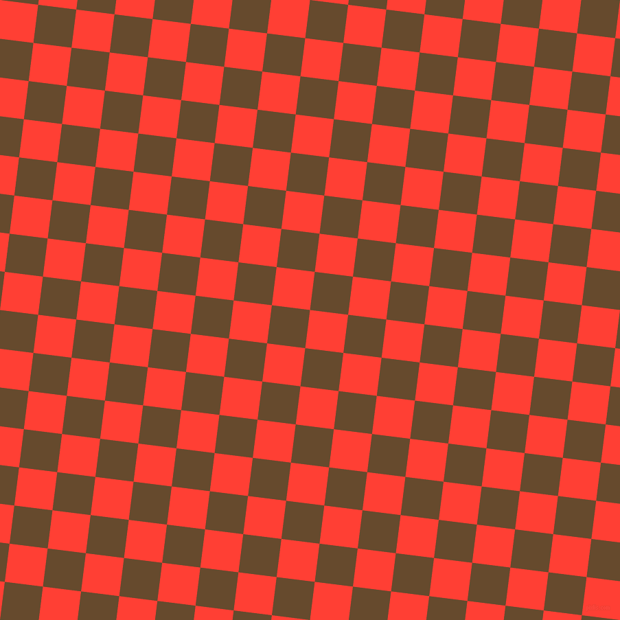 83/173 degree angle diagonal checkered chequered squares checker pattern checkers background, 56 pixel squares size, , Red Orange and Dallas checkers chequered checkered squares seamless tileable