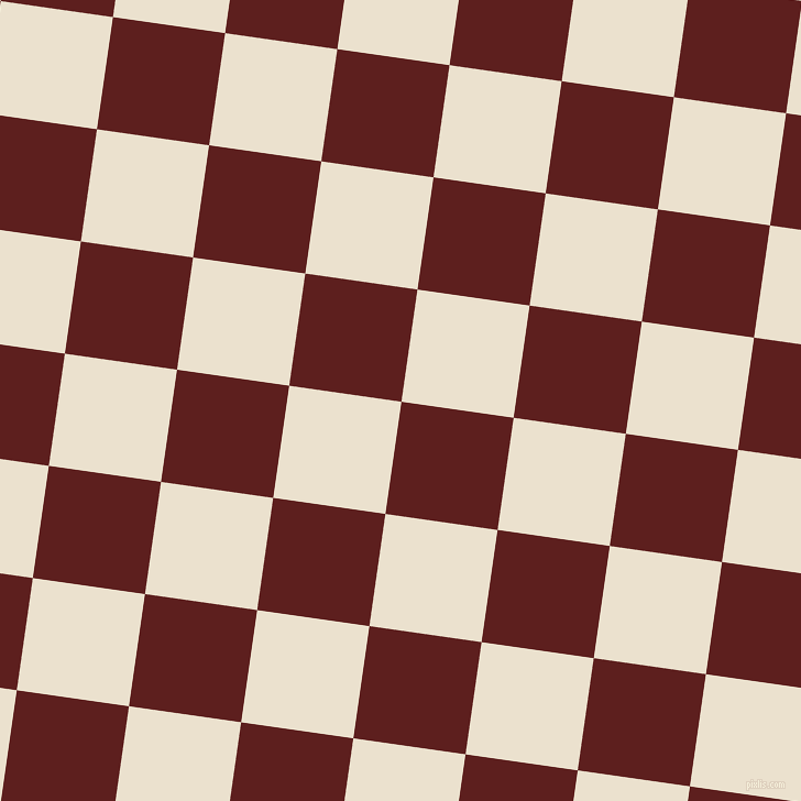 82/172 degree angle diagonal checkered chequered squares checker pattern checkers background, 103 pixel square size, , Red Oxide and Bleach White checkers chequered checkered squares seamless tileable