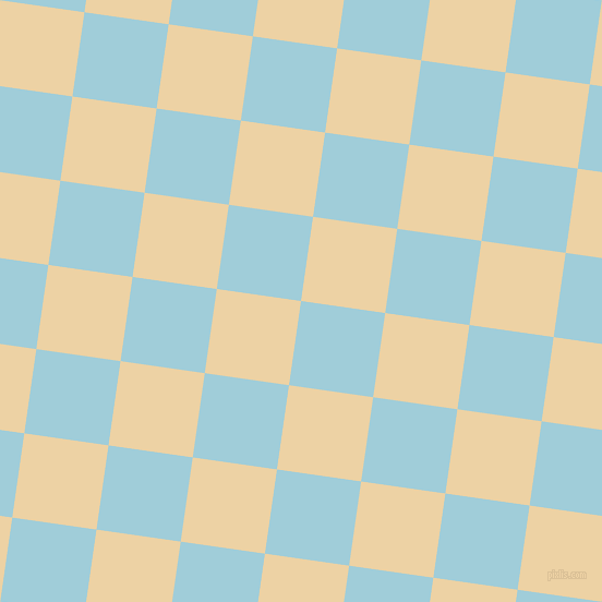 82/172 degree angle diagonal checkered chequered squares checker pattern checkers background, 78 pixel squares size, , Regent St Blue and Dairy Cream checkers chequered checkered squares seamless tileable