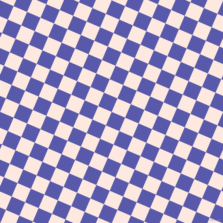 67/157 degree angle diagonal checkered chequered squares checker pattern checkers background, 48 pixel square size, , Rich Blue and Chablis checkers chequered checkered squares seamless tileable