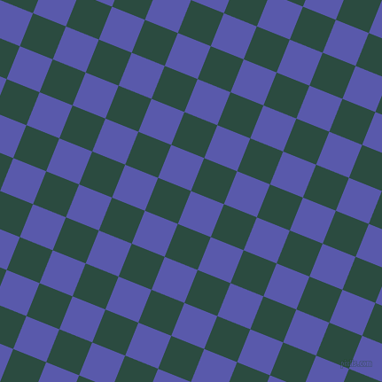 68/158 degree angle diagonal checkered chequered squares checker pattern checkers background, 40 pixel square size, , Rich Blue and Te Papa Green checkers chequered checkered squares seamless tileable