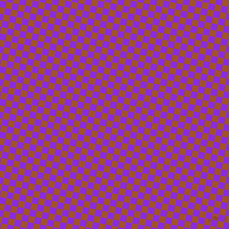 79/169 degree angle diagonal checkered chequered squares checker pattern checkers background, 13 pixel squares size, , Rich Gold and Blue Violet checkers chequered checkered squares seamless tileable