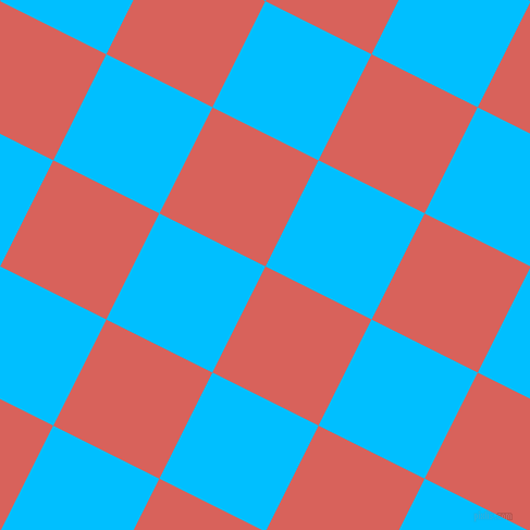 63/153 degree angle diagonal checkered chequered squares checker pattern checkers background, 109 pixel square size, Roman and Deep Sky Blue checkers chequered checkered squares seamless tileable