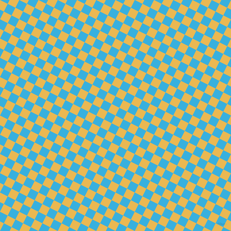 63/153 degree angle diagonal checkered chequered squares checker pattern checkers background, 30 pixel square size, , Ronchi and Summer Sky checkers chequered checkered squares seamless tileable