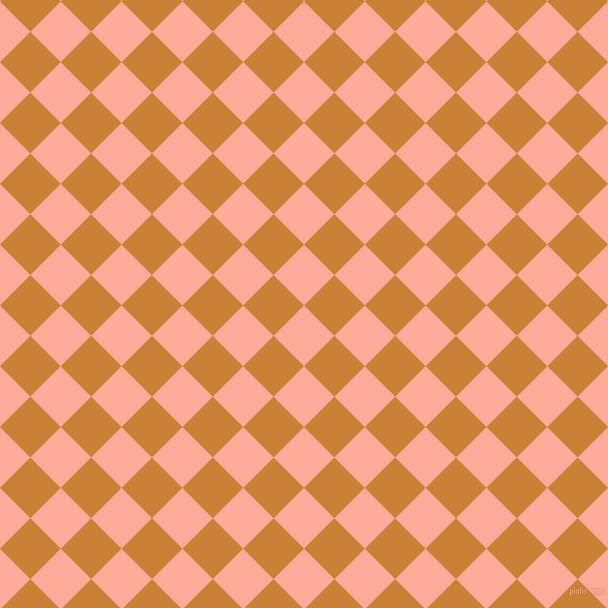 45/135 degree angle diagonal checkered chequered squares checker pattern checkers background, 43 pixel square size, , Rose Bud and Golden Bell checkers chequered checkered squares seamless tileable