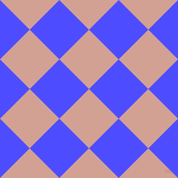 45/135 degree angle diagonal checkered chequered squares checker pattern checkers background, 139 pixel square size, , Rose and Neon Blue checkers chequered checkered squares seamless tileable