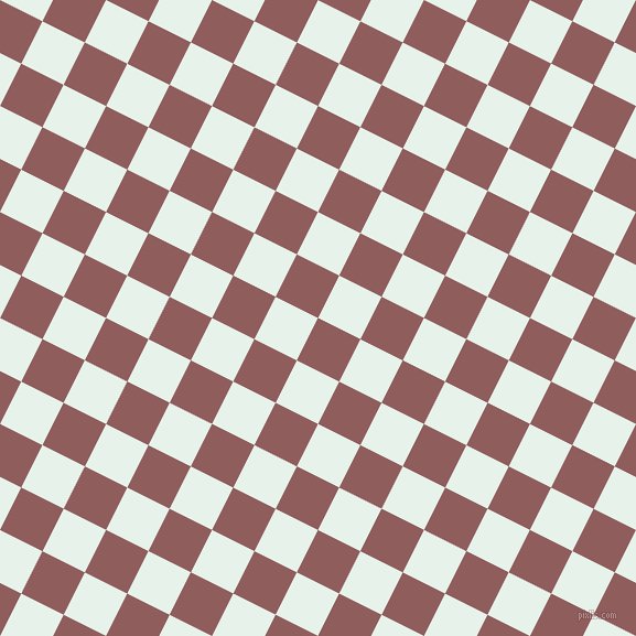 63/153 degree angle diagonal checkered chequered squares checker pattern checkers background, 43 pixel squares size, , Rose Taupe and Bubbles checkers chequered checkered squares seamless tileable