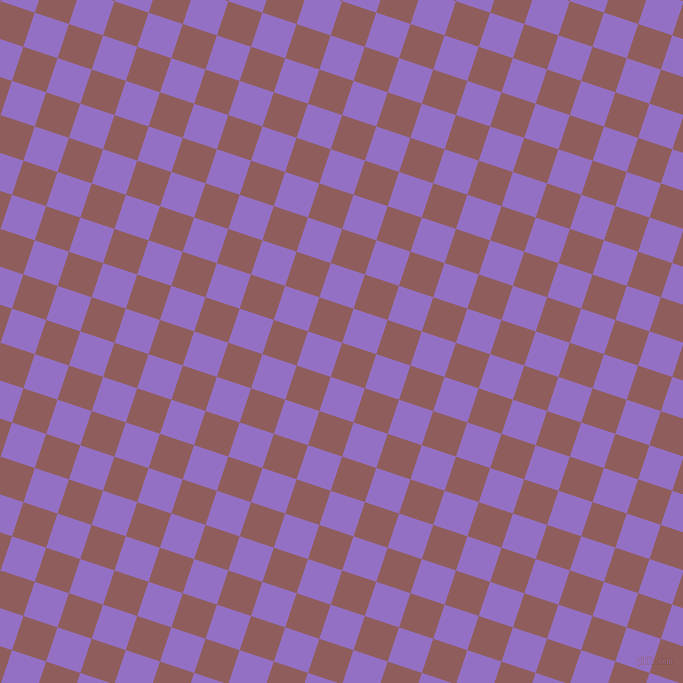 72/162 degree angle diagonal checkered chequered squares checker pattern checkers background, 36 pixel square size, , Rose Taupe and Lilac Bush checkers chequered checkered squares seamless tileable