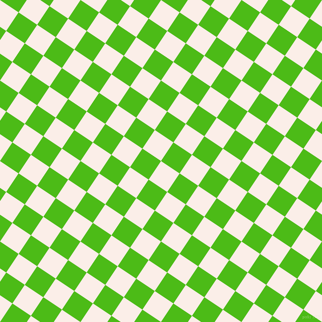 56/146 degree angle diagonal checkered chequered squares checker pattern checkers background, 45 pixel squares size, , Rose White and Kelly Green checkers chequered checkered squares seamless tileable