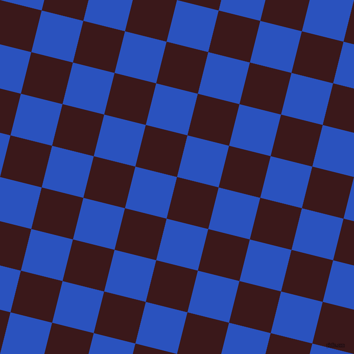 76/166 degree angle diagonal checkered chequered squares checker pattern checkers background, 84 pixel squares size, , Rustic Red and Cerulean Blue checkers chequered checkered squares seamless tileable