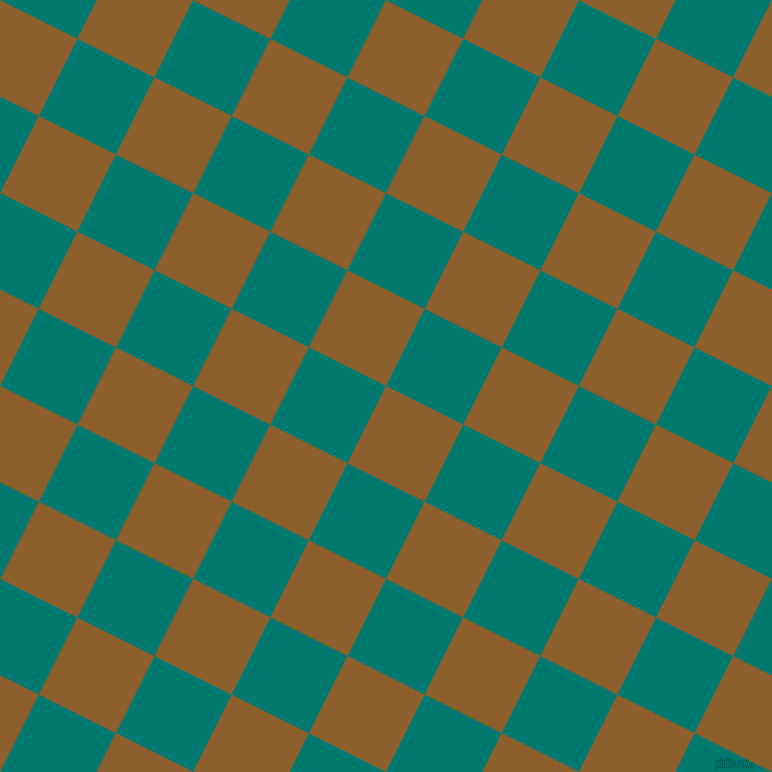 63/153 degree angle diagonal checkered chequered squares checker pattern checkers background, 79 pixel square size, , Rusty Nail and Pine Green checkers chequered checkered squares seamless tileable