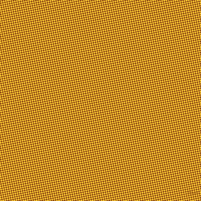 56/146 degree angle diagonal checkered chequered squares checker pattern checkers background, 5 pixel squares size, , Saddle Brown and Sunglow checkers chequered checkered squares seamless tileable