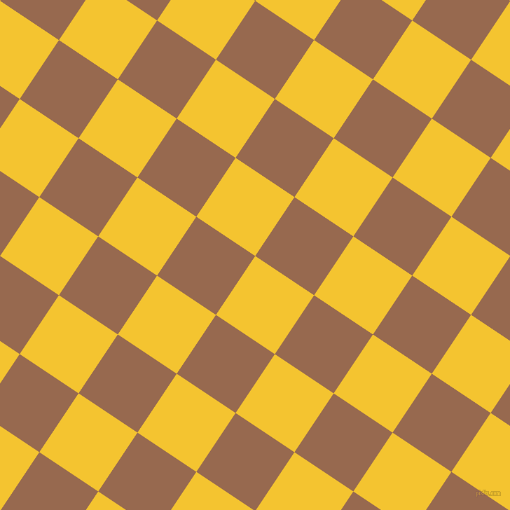 56/146 degree angle diagonal checkered chequered squares checker pattern checkers background, 101 pixel square size, , Saffron and Dark Tan checkers chequered checkered squares seamless tileable