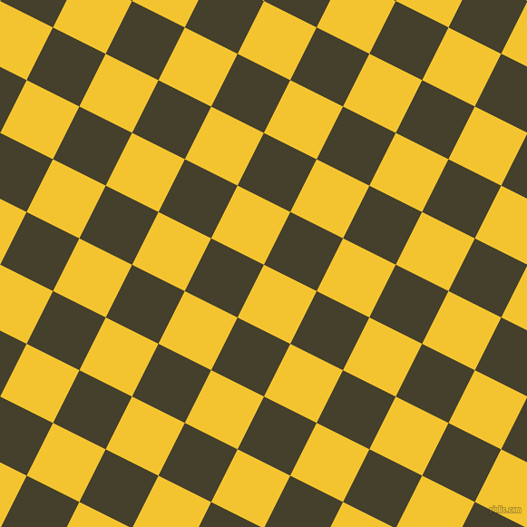 63/153 degree angle diagonal checkered chequered squares checker pattern checkers background, 65 pixel square size, , Saffron and Woodrush checkers chequered checkered squares seamless tileable