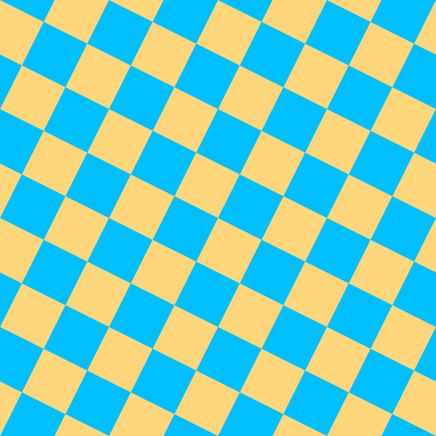 63/153 degree angle diagonal checkered chequered squares checker pattern checkers background, 96 pixel square size, Salomie and Deep Sky Blue checkers chequered checkered squares seamless tileable
