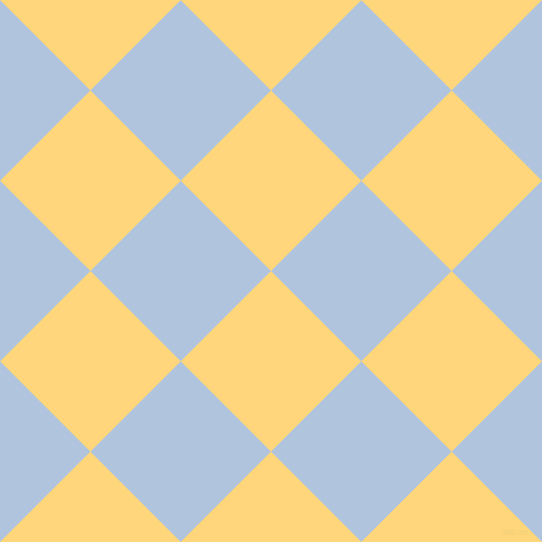 45/135 degree angle diagonal checkered chequered squares checker pattern checkers background, 184 pixel square size, , Salomie and Light Steel Blue checkers chequered checkered squares seamless tileable