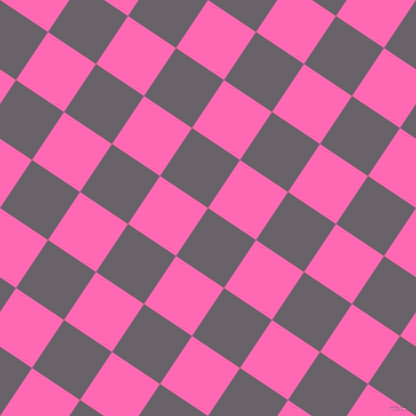 56/146 degree angle diagonal checkered chequered squares checker pattern checkers background, 118 pixel square size, , Salt Box and Hot Pink checkers chequered checkered squares seamless tileable
