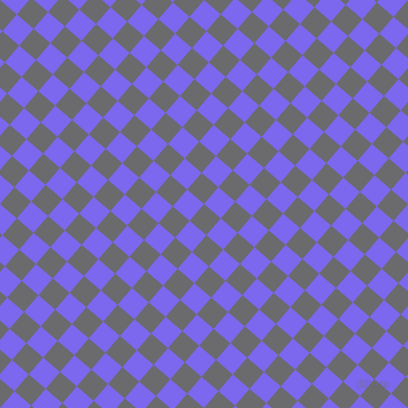 49/139 degree angle diagonal checkered chequered squares checker pattern checkers background, 25 pixel squares size, , Scarpa Flow and Medium Slate Blue checkers chequered checkered squares seamless tileable