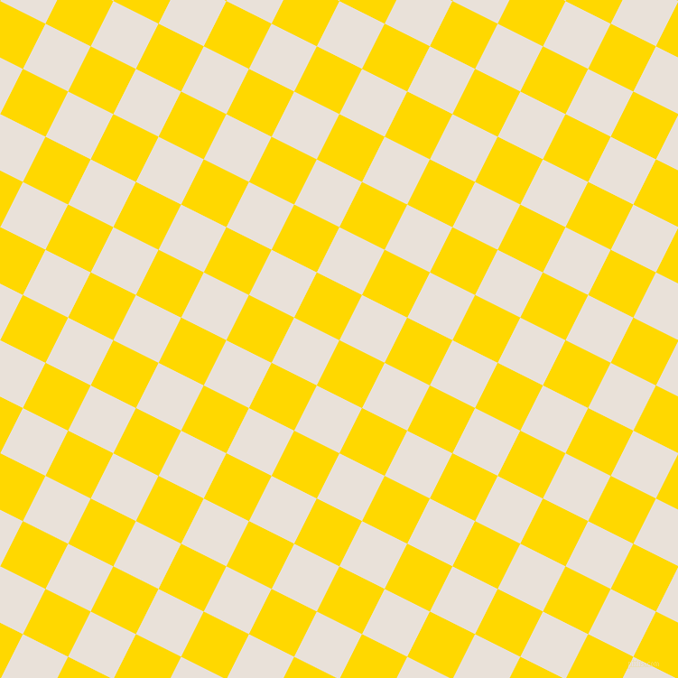 63/153 degree angle diagonal checkered chequered squares checker pattern checkers background, 56 pixel squares size, , School Bus Yellow and Spring Wood checkers chequered checkered squares seamless tileable