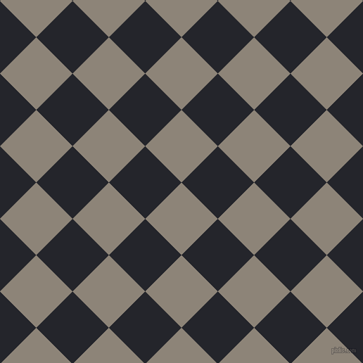 45/135 degree angle diagonal checkered chequered squares checker pattern checkers background, 73 pixel square size, , Schooner and Black Russian checkers chequered checkered squares seamless tileable