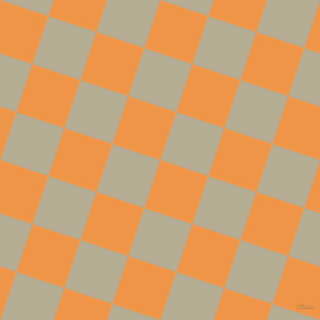 72/162 degree angle diagonal checkered chequered squares checker pattern checkers background, 104 pixel square size, , Sea Buckthorn and Bison Hide checkers chequered checkered squares seamless tileable