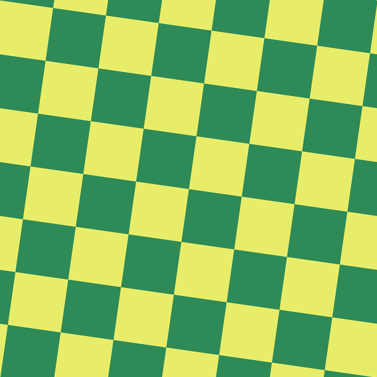 82/172 degree angle diagonal checkered chequered squares checker pattern checkers background, 105 pixel squares size, , Sea Green and Honeysuckle checkers chequered checkered squares seamless tileable