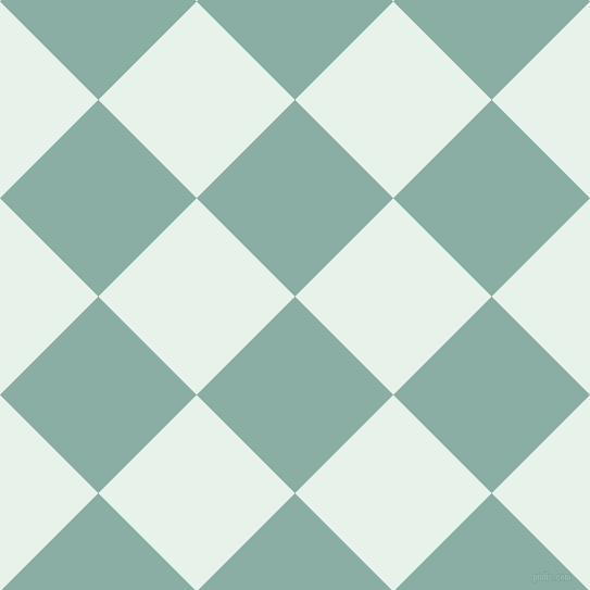 45/135 degree angle diagonal checkered chequered squares checker pattern checkers background, 128 pixel square size, , Sea Nymph and Bubbles checkers chequered checkered squares seamless tileable