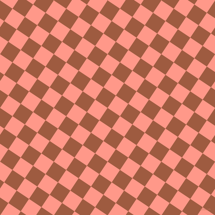 56/146 degree angle diagonal checkered chequered squares checker pattern checkers background, 50 pixel square size, , Sepia and Mona Lisa checkers chequered checkered squares seamless tileable