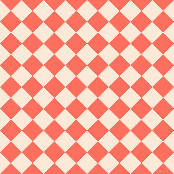 45/135 degree angle diagonal checkered chequered squares checker pattern checkers background, 51 pixel squares size, , Serenade and Bittersweet checkers chequered checkered squares seamless tileable