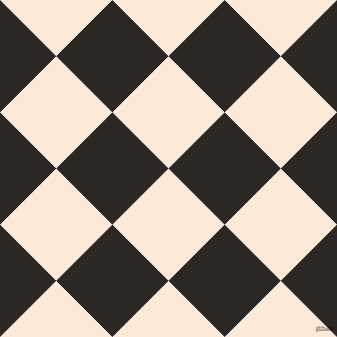 45/135 degree angle diagonal checkered chequered squares checker pattern checkers background, 164 pixel squares size, , Serenade and Bokara Grey checkers chequered checkered squares seamless tileable