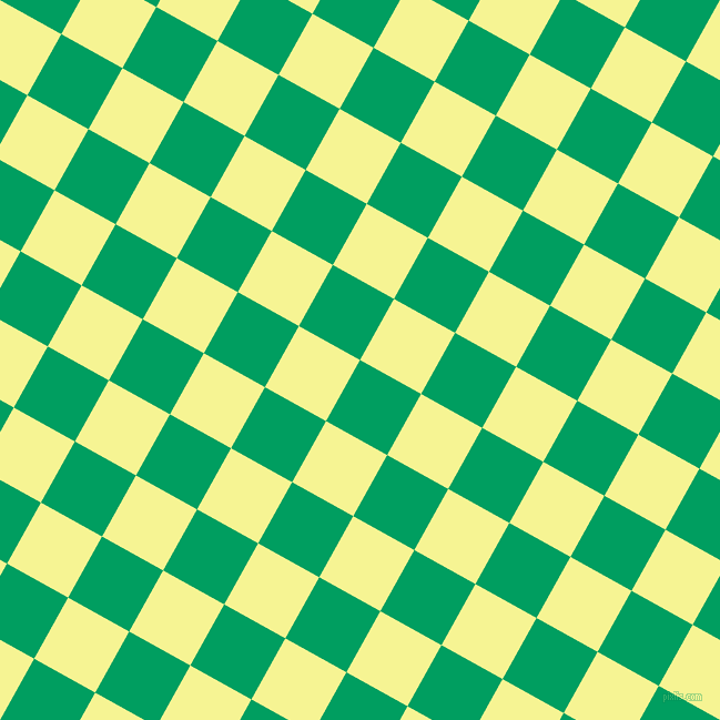 61/151 degree angle diagonal checkered chequered squares checker pattern checkers background, 63 pixel squares size, Shamrock Green and Milan checkers chequered checkered squares seamless tileable