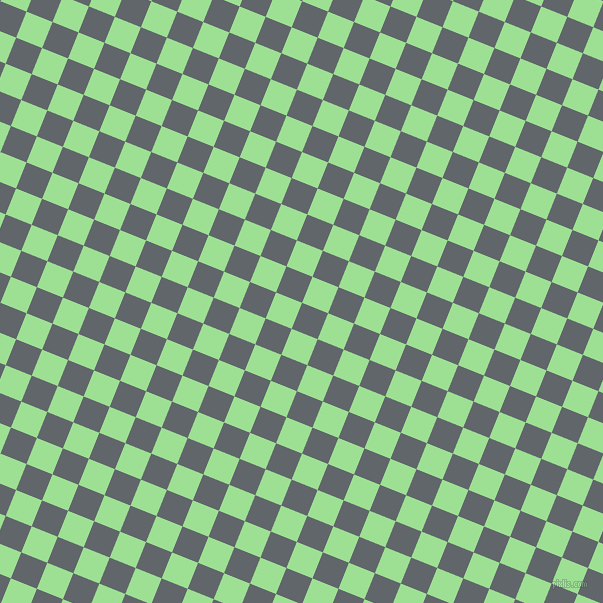 68/158 degree angle diagonal checkered chequered squares checker pattern checkers background, 28 pixel square size, , Shuttle Grey and Granny Smith Apple checkers chequered checkered squares seamless tileable