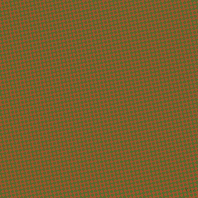 56/146 degree angle diagonal checkered chequered squares checker pattern checkers background, 9 pixel squares size, , Sienna and Green Leaf checkers chequered checkered squares seamless tileable