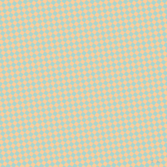 54/144 degree angle diagonal checkered chequered squares checker pattern checkers background, 13 pixel squares size, , Sinbad and Peach-Orange checkers chequered checkered squares seamless tileable