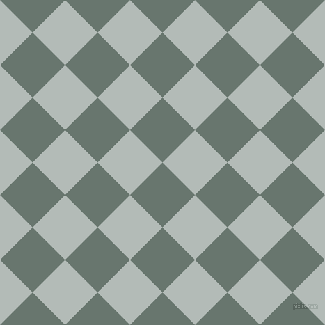 45/135 degree angle diagonal checkered chequered squares checker pattern checkers background, 66 pixel square size, , Sirocco and Loblolly checkers chequered checkered squares seamless tileable