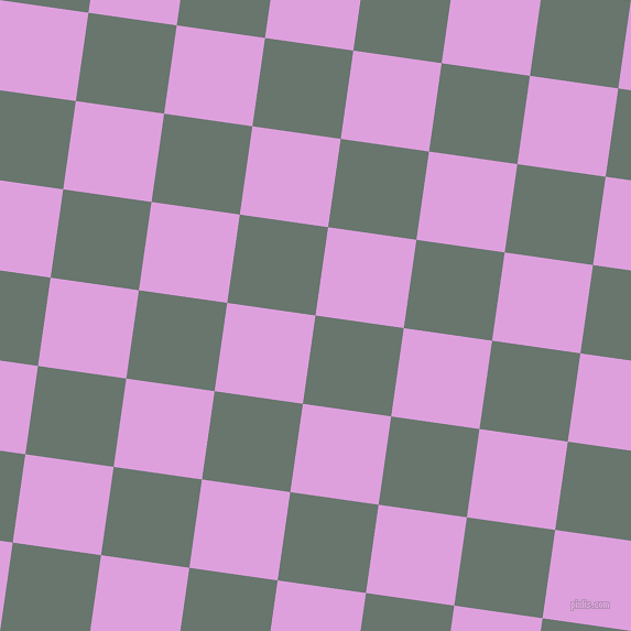 82/172 degree angle diagonal checkered chequered squares checker pattern checkers background, 81 pixel square size, , Sirocco and Plum checkers chequered checkered squares seamless tileable