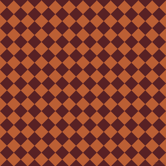 45/135 degree angle diagonal checkered chequered squares checker pattern checkers background, 32 pixel squares size, , Smoke Tree and Burnt Crimson checkers chequered checkered squares seamless tileable