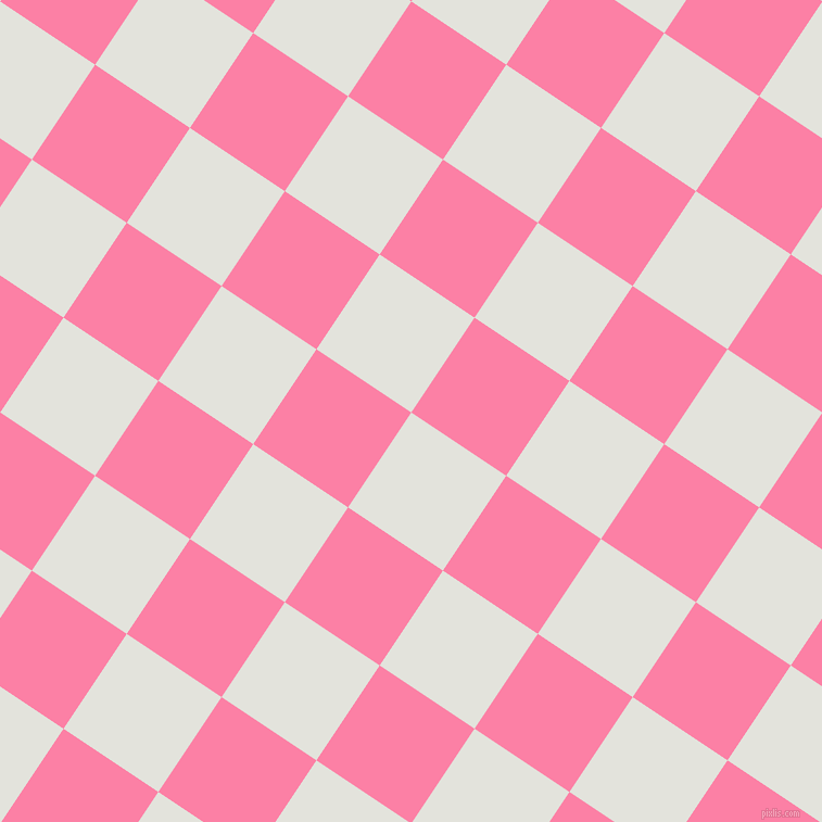 56/146 degree angle diagonal checkered chequered squares checker pattern checkers background, 105 pixel square size, , Snow Drift and Tickle Me Pink checkers chequered checkered squares seamless tileable