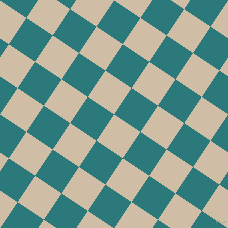 56/146 degree angle diagonal checkered chequered squares checker pattern checkers background, 110 pixel square size, , Soft Amber and Atoll checkers chequered checkered squares seamless tileable