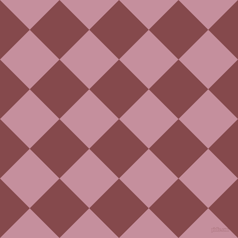 45/135 degree angle diagonal checkered chequered squares checker pattern checkers background, 85 pixel squares size, , Solid Pink and Viola checkers chequered checkered squares seamless tileable