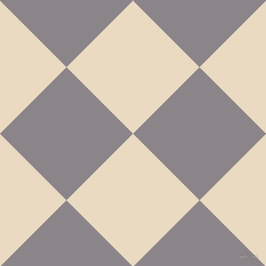 45/135 degree angle diagonal checkered chequered squares checker pattern checkers background, 185 pixel squares size, , Solitaire and Taupe Grey checkers chequered checkered squares seamless tileable