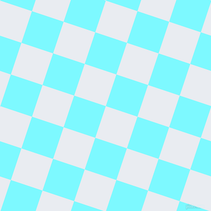 72/162 degree angle diagonal checkered chequered squares checker pattern checkers background, 65 pixel squares size, , Solitude and Electric Blue checkers chequered checkered squares seamless tileable