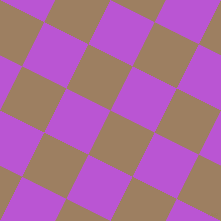 63/153 degree angle diagonal checkered chequered squares checker pattern checkers background, 158 pixel square size, , Sorrell Brown and Medium Orchid checkers chequered checkered squares seamless tileable