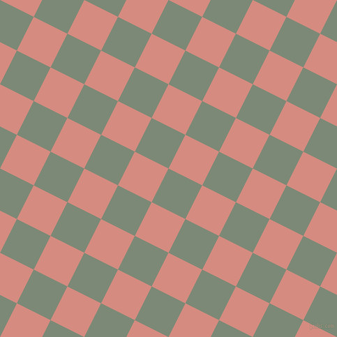 63/153 degree angle diagonal checkered chequered squares checker pattern checkers background, 54 pixel squares size, , Spanish Green and My Pink checkers chequered checkered squares seamless tileable