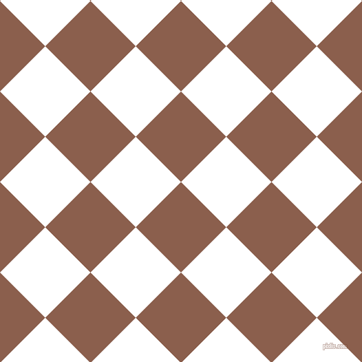 45/135 degree angle diagonal checkered chequered squares checker pattern checkers background, 93 pixel square size, , Spicy Mix and White checkers chequered checkered squares seamless tileable