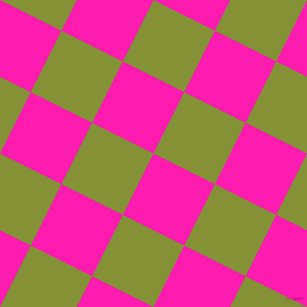 63/153 degree angle diagonal checkered chequered squares checker pattern checkers background, 135 pixel square size, , Spicy Pink and Wasabi checkers chequered checkered squares seamless tileable