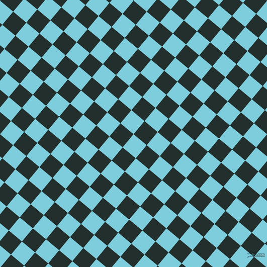 50/140 degree angle diagonal checkered chequered squares checker pattern checkers background, 34 pixel squares size, , Spray and Racing Green checkers chequered checkered squares seamless tileable